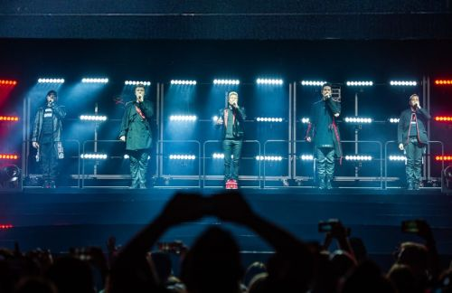 VIDEO. Le striptease des Backstreet Boys sur la scène du Sportpaleis