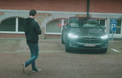 VIDEO. Un étudiant belge pirate une Tesla en 90 secondes