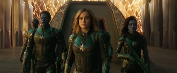"Le plein d'action pour ""Captain Marvel"""