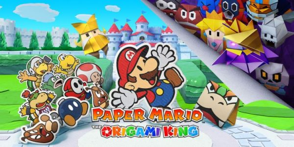 Test Paper Mario:  The origami king. Un vrai jeu d'aventure ?