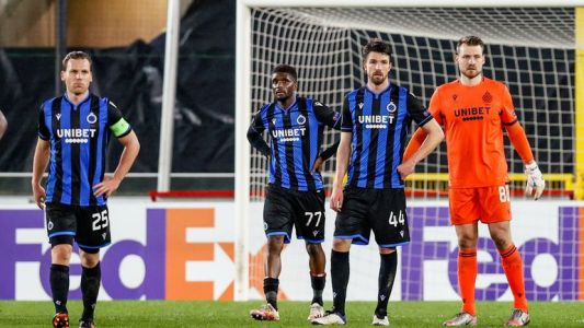 Europa League:  Elimination cruelle pour Bruges, surpris par un cynique Dynamo Kiev (0-1)