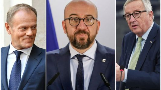 Charles Michel, Jean-Claude Juncker, Donald Tusk: vague de réactions après le rejet de l'accord sur le Brexit