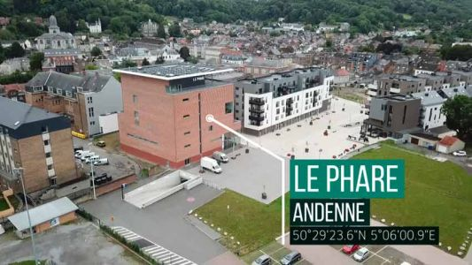 Le Phare d'Andenne - Inauguration