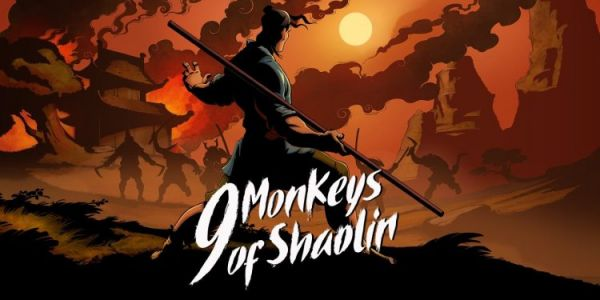 Test 9 Monkeys of Shaolin:  Un bourre-pif à la moine !