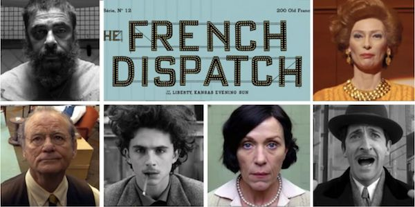 CINEMA:  'The French Dispatch' de Wes Anderson