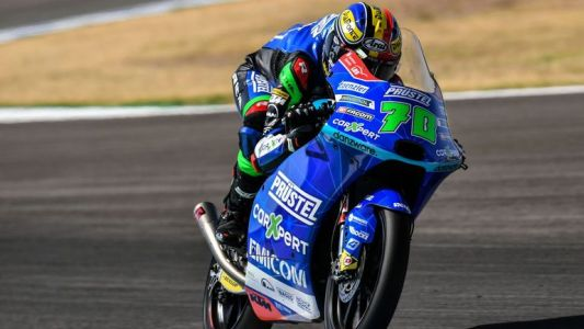 Moto 3:  Des regrets pour Barry Baltus à Barcelone