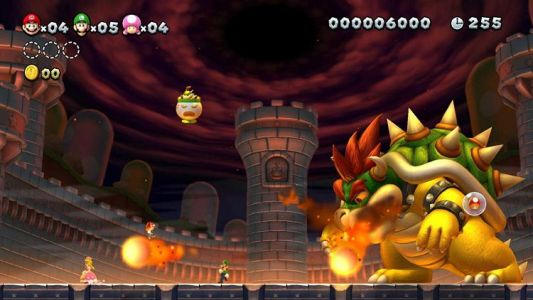 Test New Super Mario Bros U Deluxe sur Nintendo Switch