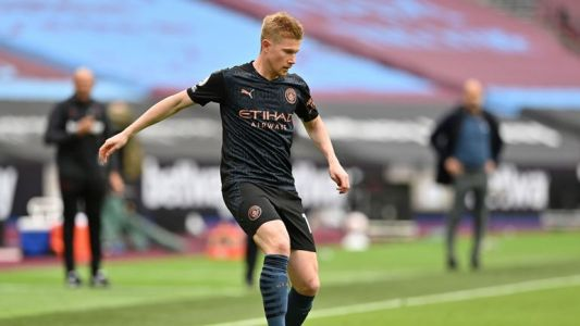 Ligue des Champions: De Bruyne à l'assist face à Marseille