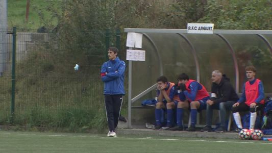 Foot U16 Arquet:  rencontre du coach Gilles Merckx