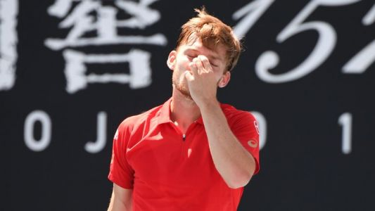 David Goffin s'incline en quatre sets face au Russe Andrey Rublev