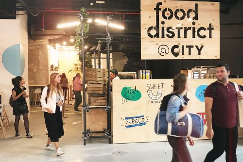 Food District:  le premier food market de Bruxelles ouvre ses portes !