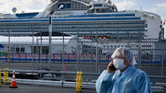 "Situation ""chaotique"" à bord du Diamond Princess, alerte un expert japonais"