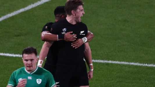 Les intraitables All Blacks balayent l'Irlande en quart de finale