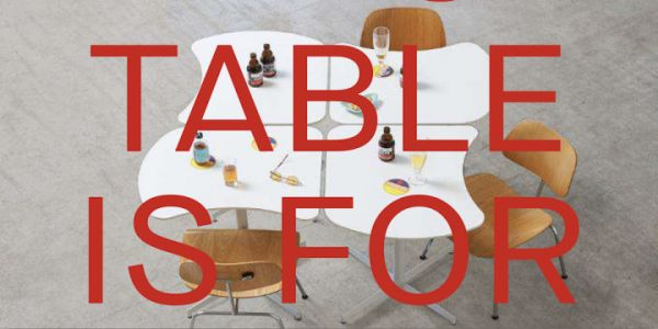 DISTANCIATION:  C-19 Table by AWAA Architects