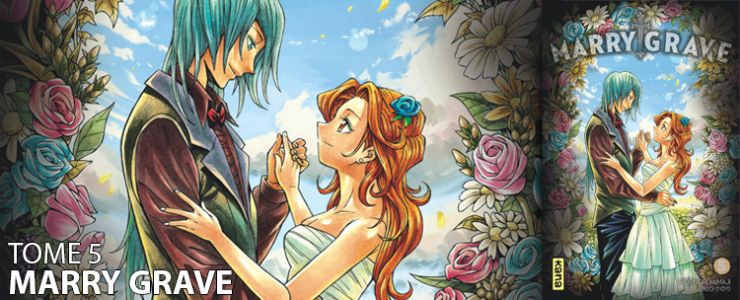 Avis manga:  Marry Grave