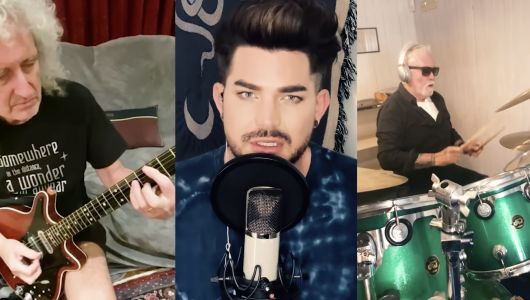 "Queen et Adam Lambert:  un nouveau ""We are the champions"" solidaire !"