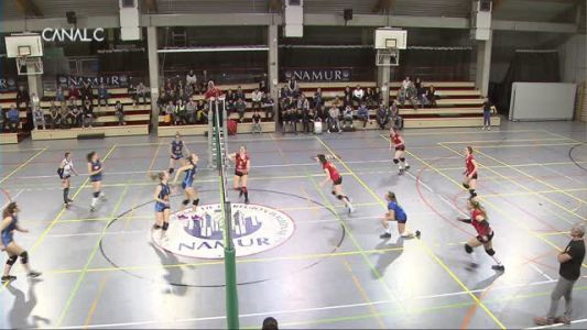 Volley:  Namur - Lessines + résultats volley et TT