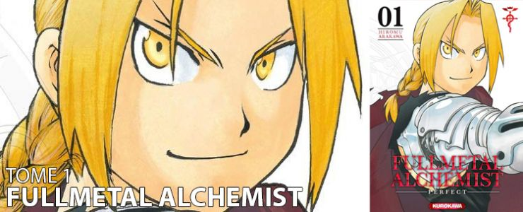 Avis manga:  Fullmetal Alchemist Perfect edition