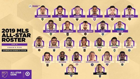 Rooney, Ibrahimovic et Pozuelo dans la sélection All-Star de la MLS