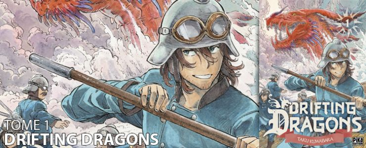 Avis manga:  Drifting Dragons