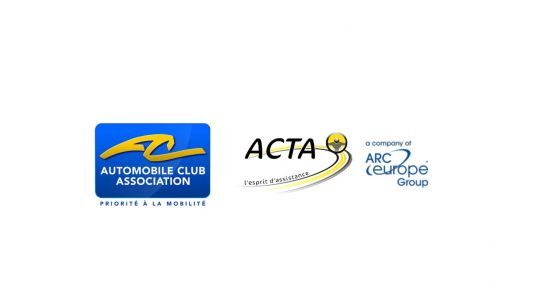 "The Automobile Club Association and ACTA, subsidiary of ARC Europe Group, partners for ""Assist"" and Mobility Guarantee"