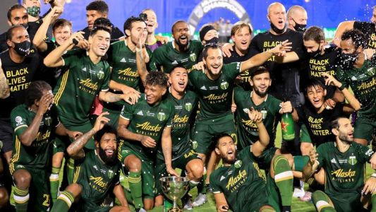 "Portland remporte le tournoi ""MLS is back"" en battant Orlando en finale"