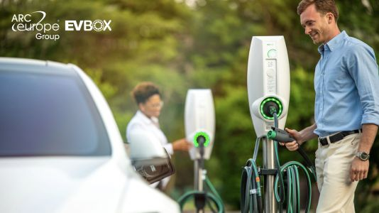 ARC Europe and EVBox announce Pan-European strategic partnership to assist EV-driving customers at the charging station