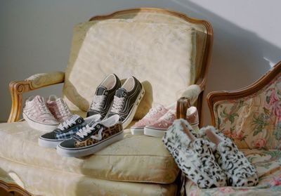 ElleFashionCrush:  Vans x Sandy Liang, la collab' nineties qu'on attendait