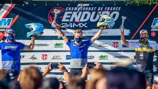 Antoine Magain : un wallon au top de l'enduro mondial !