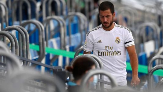 Real Madrid - Alaves:  Eden Hazard réserviste