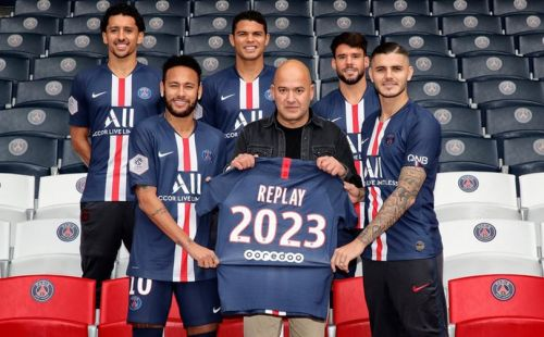 Le Paris Saint-Germain poursuit sa collaboration avec la marque Replay