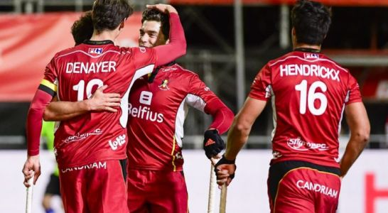 Hockey sur gazon:  les Red Lions s'imposent en Grande-Bretagne (0-4) et mènent en Pro League
