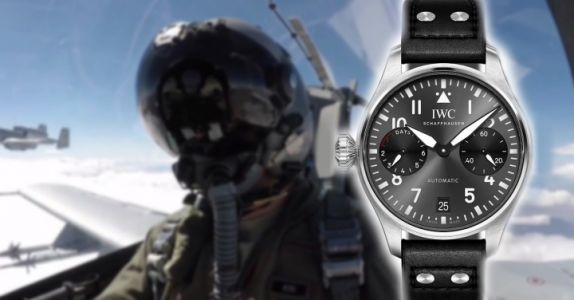 WATCH THIS:  IWC La montre qui se porte à la main droite !